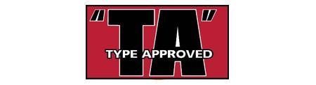 Type approved